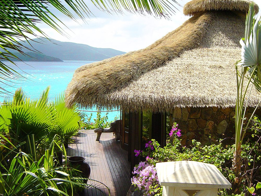 Synthetic Bali Thatch Roofing For Easier, Longer Lasting Hips