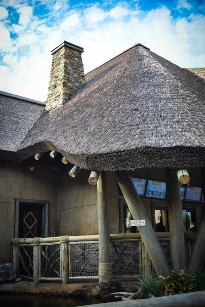 Synthetic Thatch More Attractive Than Natural thatch