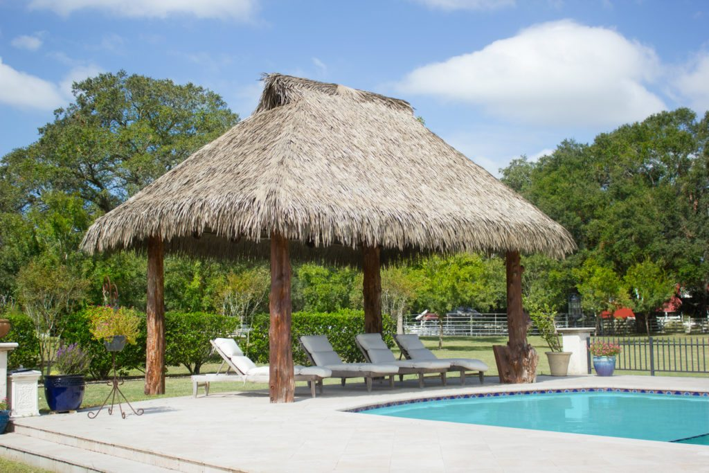synthetic thatch pavilion