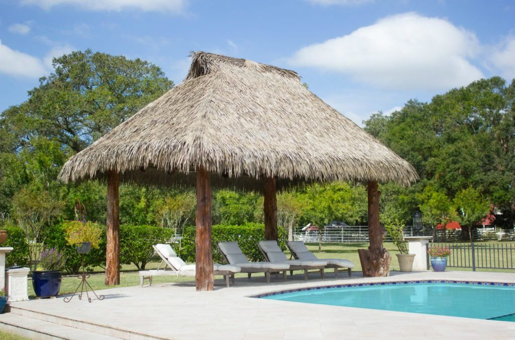 The Difference Between A Natural Thatch And Synthetic Thatch Gazebo For Your Resort