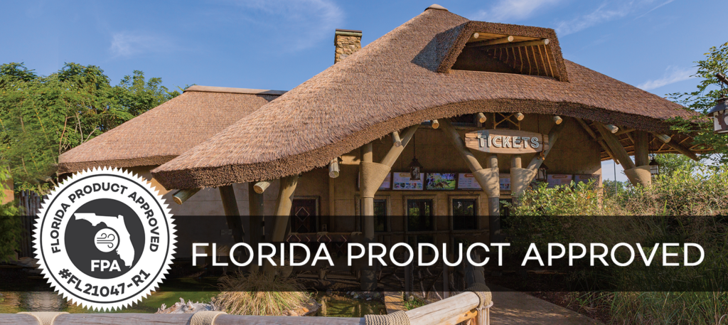 Florida Product Approved Thatched Roofing