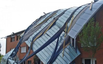 Protect From Wind Uplift: Durable Thatch With Patented, Stainless Steel Crimp Binding