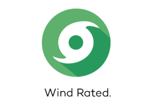 Wind Rated thatched roof